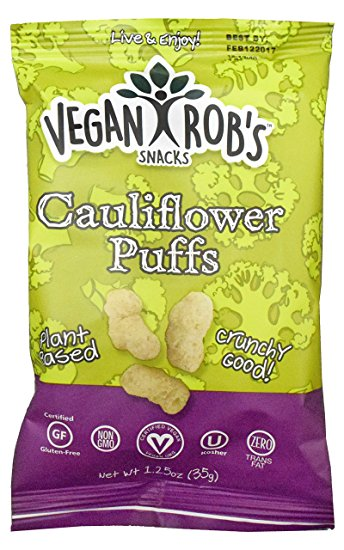 Vegan Rob's Probiotic Cauliflower Puffs, 99g