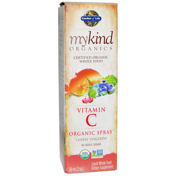 Garden of Life MyKind Vitamin C Spray, 58 mL
