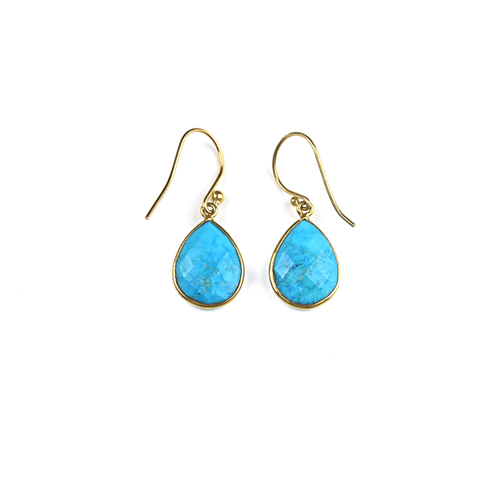 Sammi Teardrop Turquoise Earrings
