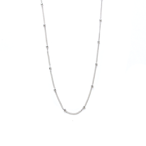 Nina Silver Satellite Layering Chain