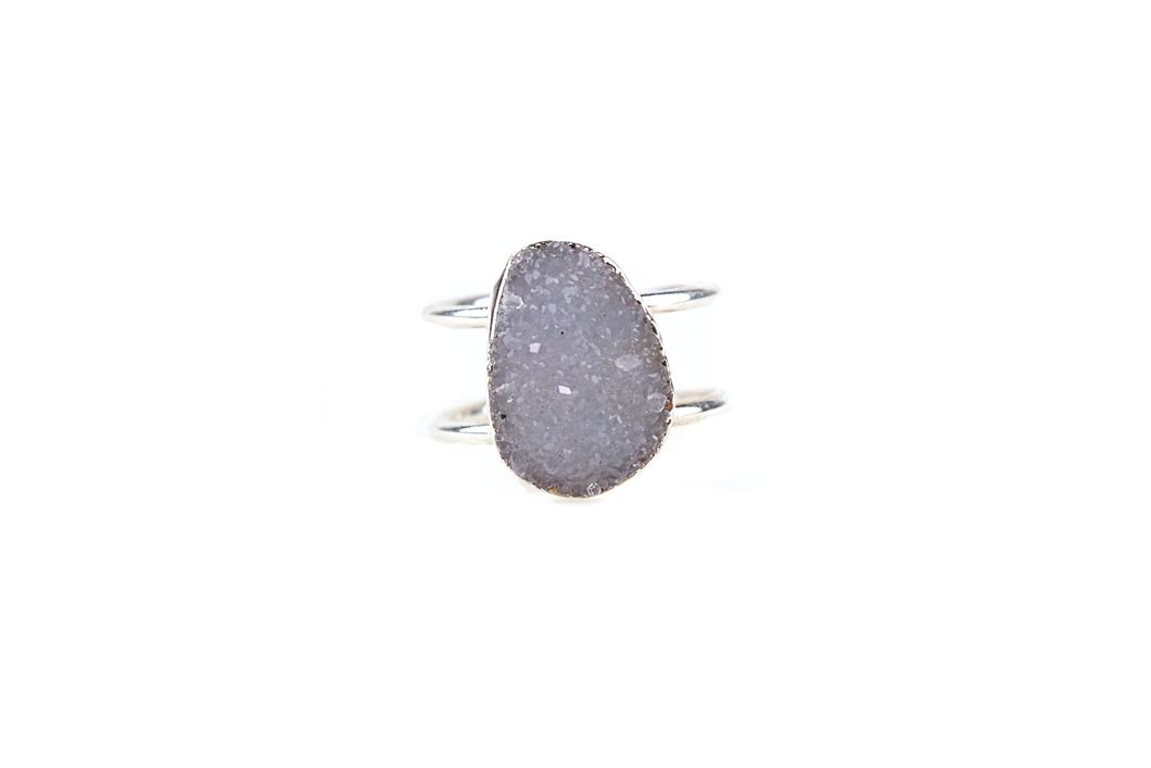Druzy Cocktail Ring No. 1