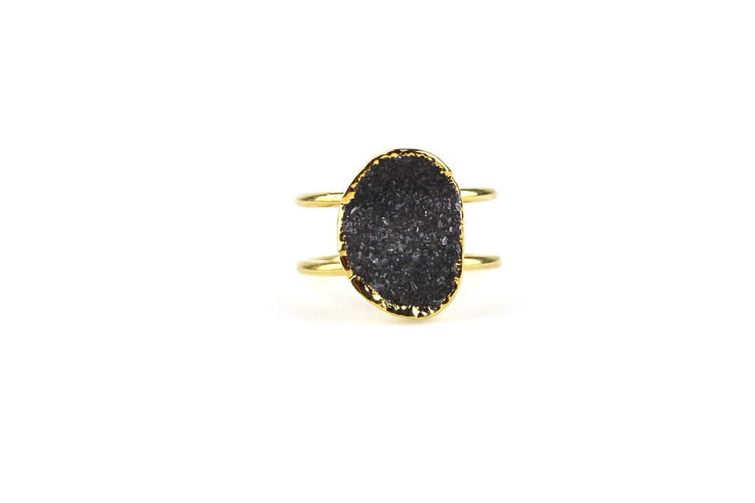 Druzy Cocktail Ring No. 2