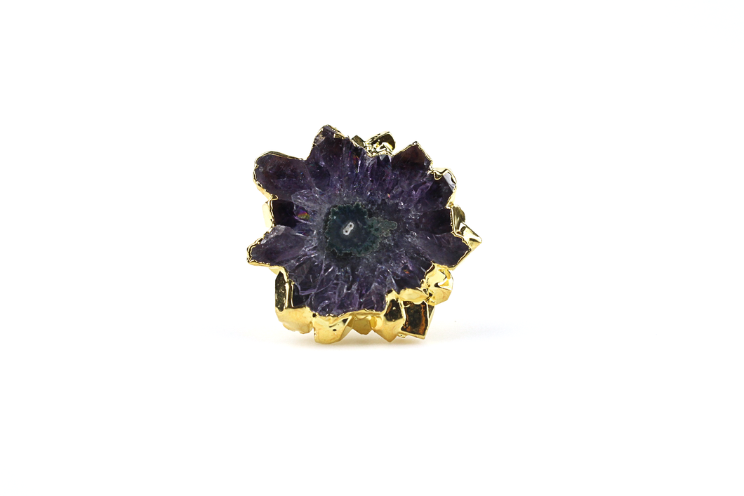 Double Band Stalactite Ring