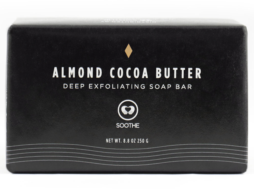 Almond Cocoa Butter Large Soap Bar - Deep Exfoliation