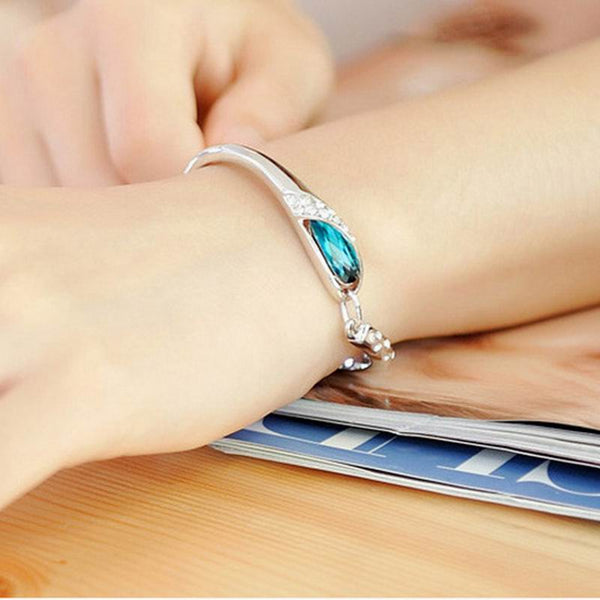 Dolphin Eye Charm Bracelet/Bangle