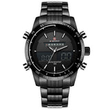 Naviforce Waterproof Men's Sport Watch. Casual, Quartz, Full Steel.