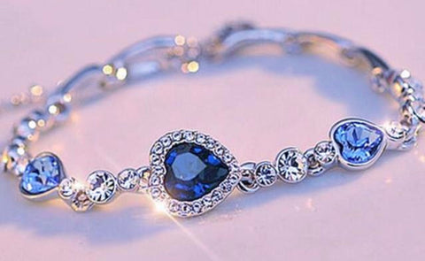 Beautiful Titanic-Lovers Gemstone Bracelet *Limited Supply & FREE SHIPPING*
