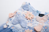 Girls Flower Dress. For Birthdays, Parties, Princess Ball, Wedding Wear etc.