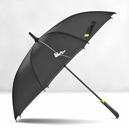 Large, Long Umbrella. Semi-automatic, Windproof, Quality 8K Glassfiber.