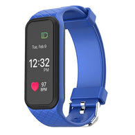 Smart Watch Bracelet. Bluetooth, Sport, Heart Rate Monitor, Color LCD Screen, Pedometer, Fitness Tracker