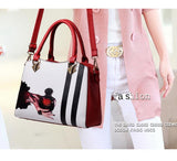 Trendy Vintage, PU Leather, Women, Shoulder Handbag (High Quality)