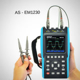 2 in 1 Handheld Oscilloscope/DMM Meter w/ Color Screen