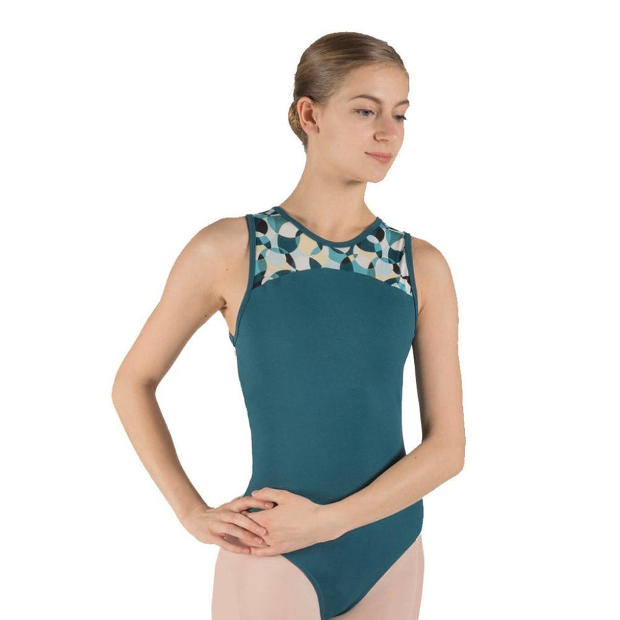 BASILICA DANCEWEAR - MILA SLEEVELESS OPEN BACK LEOTARD - SIZE SMALL