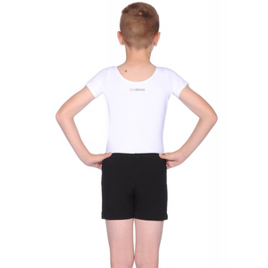BBO DANCE BOYS BLACK COTTON LOOSE FIT EXAM SHORTS