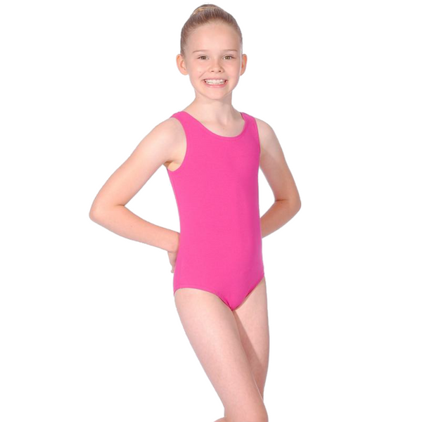 MULBERRY SLEEVELESS LEOTARD FOR BBO DANCE TAP UNIFORM - GRADES 1, 2 & 3