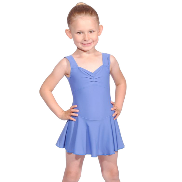 SLEEVELESS SKIRTED LEOTARD FOR BBO DANCE TAP UNIFORM - PRE-SYLLABUS & PRIMARY GRADES