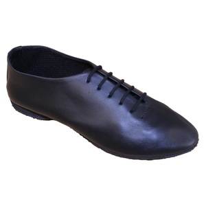 BLACK FULL RUBBER SOLE JAZZ SHOES - Click Dancewear