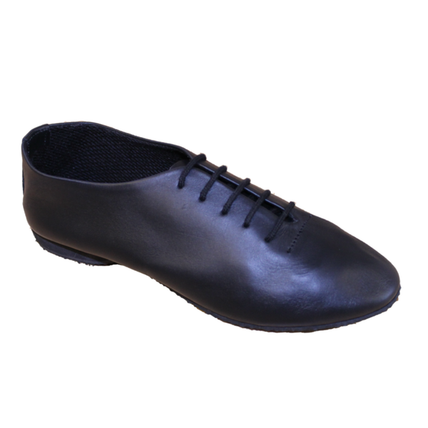 BLACK SUEDE SOLE JAZZ SHOES - Click Dancewear
