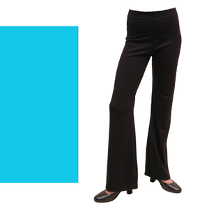 DANNI - NYLON LYCRA JAZZ PANTS / TROUSERS - REGULAR LEG