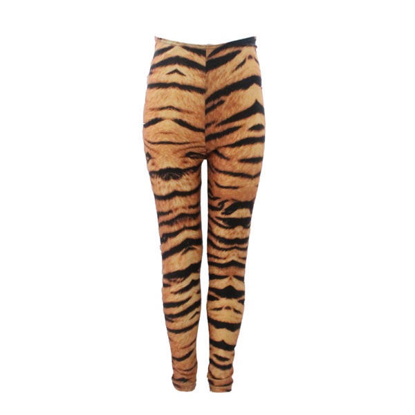 SIBERIAN TIGER FOOTLESS TIGHTS/LEGGINGS - Click Dancewear