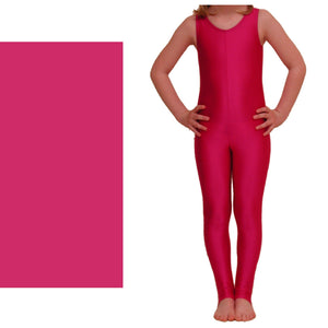 GEORGIE - SLEEVELESS STIRRUP FOOT CATSUIT