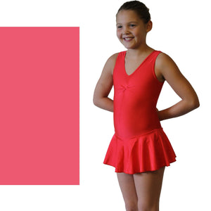 KATIE - SKIRTED LEOTARD - SUBTLE COLOURS