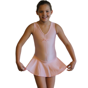 KATIE SKIRTED LEOTARD - SUBTLE COLOURS - Click Dancewear
