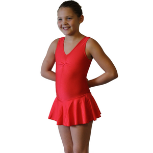 KATIE - SKIRTED LEOTARD - BOLD COLOURS