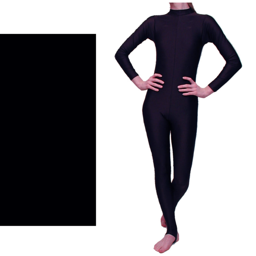 LAUREN - LONG SLEEVE POLO NECK CATSUIT - Click Dancewear