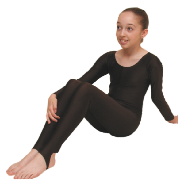 LEIGH - LONG SLEEVE CATSUIT/UNITARD - Click Dancewear
