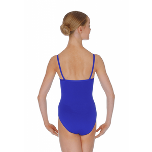 ROCH VALLEY MARGOT MICROFIBRE CAMISOLE LEOTARD WITH A PLEATED FRONT