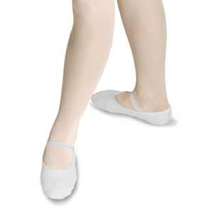 ROCH VALLEY WHITE LEATHER OPHELIA BALLET SHOES