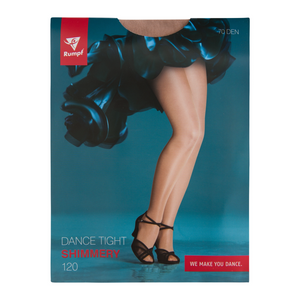RUMPF 120 FOOTED SHIMMER TIGHTS
