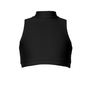 ROSIE - SLEEVELESS POLO CROP TOP - Click Dancewear - 5