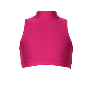 ROSIE - SLEEVELESS POLO CROP TOP - Click Dancewear - 4