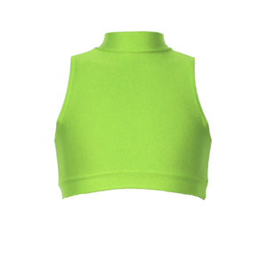 ROSIE - SLEEVELESS POLO CROP TOP - Click Dancewear - 9