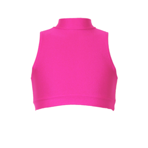 ROSIE - SLEEVELESS POLO CROP TOP - Click Dancewear - 7