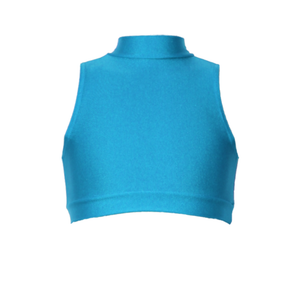 ROSIE - SLEEVELESS POLO CROP TOP - Click Dancewear - 3
