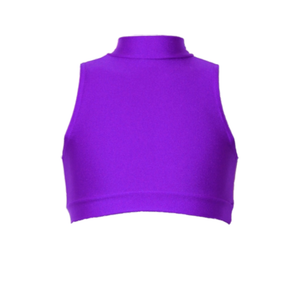ROSIE - SLEEVELESS POLO CROP TOP - Click Dancewear - 2