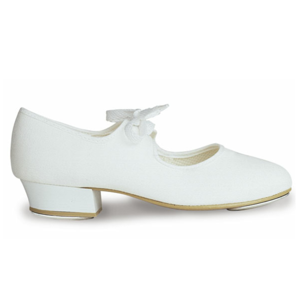 ROCH VALLEY CANVAS TAP SHOES - Heel Taps fitted from size 13 - Click Dancewear