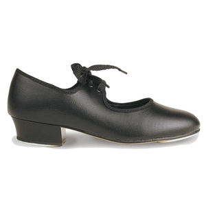 ROCH VALLEY PU TAP SHOES - Heel taps fitted from size 13 - Click Dancewear