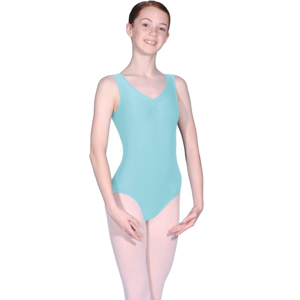 ROCH VALLEY ISTD STYLE FRONT LINED LEOTARD FOR GRADES 2-4