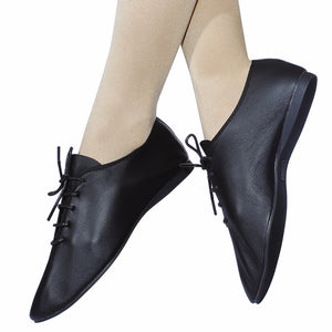 ROCH VALLEY BLACK FULL RUBBER SOLE JAZZ SHOES