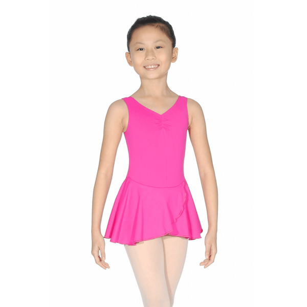 ROCH VALLEY MEDLEY SLEEVELESS LEOTARD WITH ATTACHED SKIRT