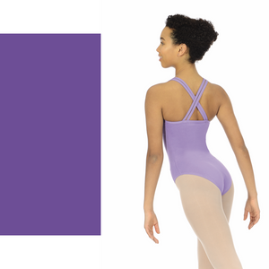 ROCH VALLEY SOPHIE VIOLET DOUBLE STRAP CAMISOLE LEOTARD