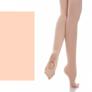 'SILKY' BRAND 60 DENIER CONVERTIBLE BALLET DANCE TIGHTS