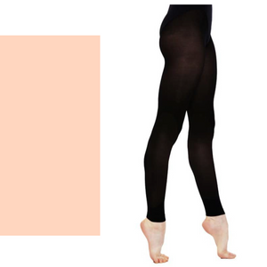 'SILKY' BRAND 60 DENIER BALLET DANCE FOOTLESS TIGHTS