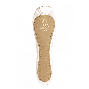 ROCH VALLEY PREMIUM IVORY SATIN FULL SOLE BALLET SHOES