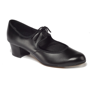 TAPPERS AND POINTERS PTC/P CUBAN HEEL PU TAP SHOES - Click Dancewear