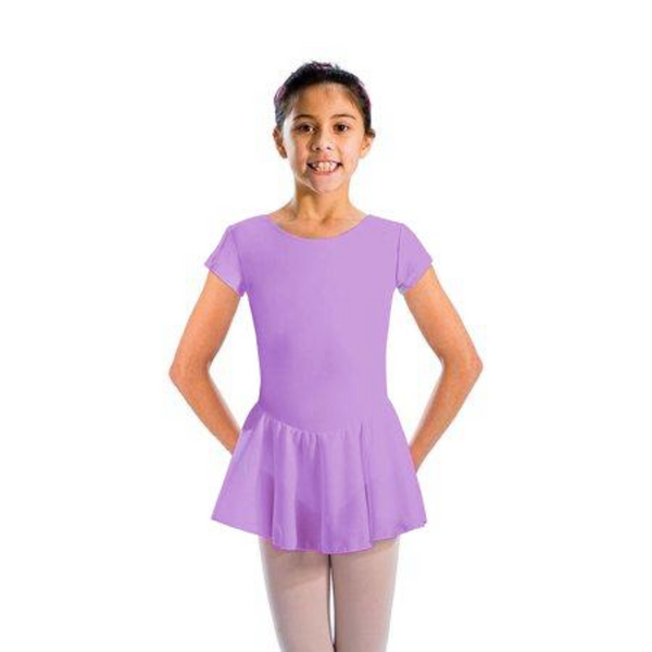 ABIGAIL - CAP SLEEVE SKIRTED LEOTARD